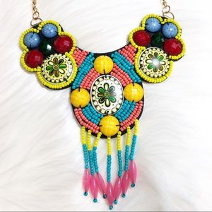 New Hand Made colorful rhinestones Necklace